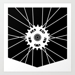 Wheel Pocket invert Art Print