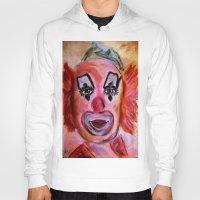 clown Hoodies featuring Clown by Digital-Art