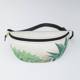 Succulent Forest Fanny Pack