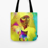 philosophy Tote Bags featuring Colors Of Philosophy by TK0920