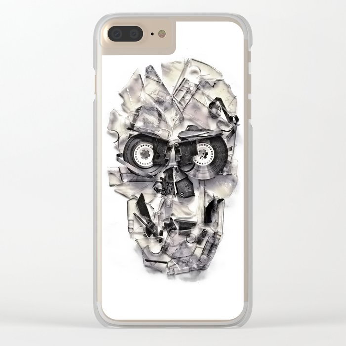 Home Taping Is Dead Clear iPhone Case