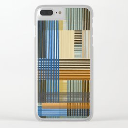 block check Clear iPhone Case
