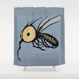 Paquito Mosquito Shower Curtain