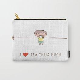 I love tea boy Carry-All Pouch
