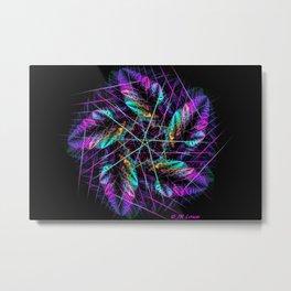 Penta Wreath Metal Print