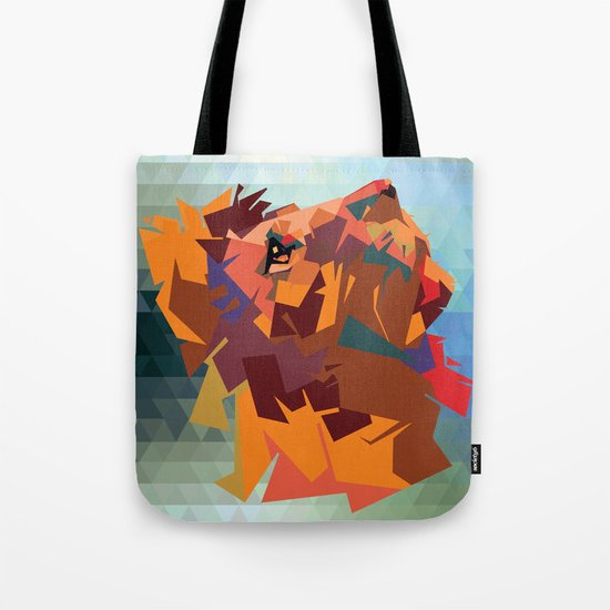 Lion's head - Geometry Tote Bag