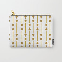 geometric design bown rhombuses Carry-All Pouch