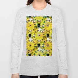 Medallions Re-visited 5 Long Sleeve T-shirt