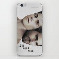 derek hale iPhone & iPod Skins featuring LoseYourMind - Stiles Stilinski / Derek Hale ( Sterek - Teen Wolf ) by Caim Thomas
