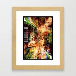 Karmic Vibrations Framed Art Print