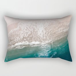 Ocean Walk V Rectangular Pillow