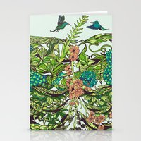 spring Stationery Cards featuring Daydreamer by Huebucket