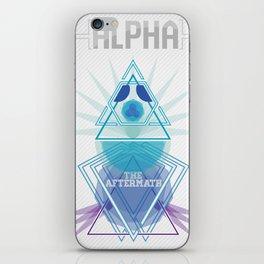 Alpha iPhone Skin