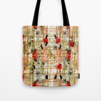monster Tote Bags featuring Monster by Tammy Kushnir