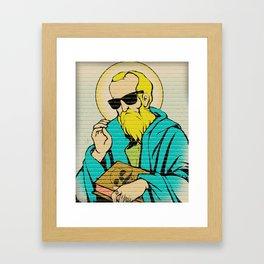 St. miKA Framed Art Print