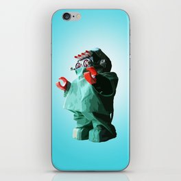 Doctorbot Blue iPhone Skin