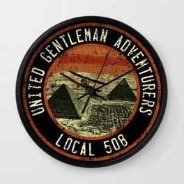 United Gentleman Adventurers Wall Clock