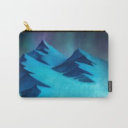 Aurora Borealis In The Mountain Pass Carry-All Pouch