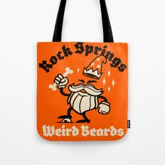 Weird Beards Tote Bag