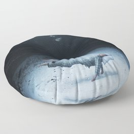 An Underwater Spell Floor Pillow
