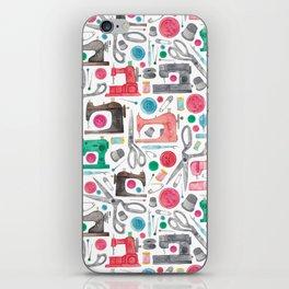 Sewing Pattern. iPhone Skin