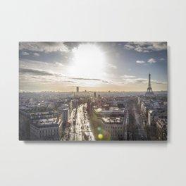Paris 73 Metal Print