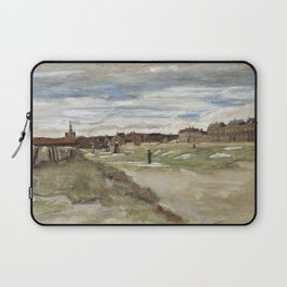 Vincent van Gogh - Bleaching Ground at Scheveningen Laptop Sleeve