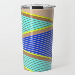 Happy Times - Neon Waves Travel Mug