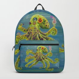 Gloria Glamourpus Octopus Backpack