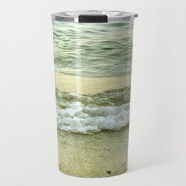 surf lace: gold variations Travel Mug