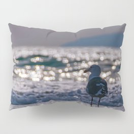 Afternoon Seagull Pillow Sham
