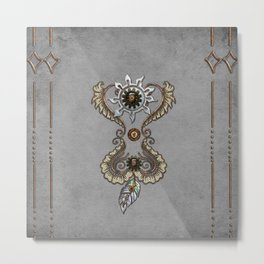 Elegant noble steampunk design Metal Print