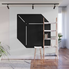 Shapes Cube Wall Mural