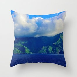 Mysterious Land Throw Pillow