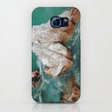 Sharp rock in river Galaxy S7 Slim Case