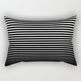Line Gradient Rectangular Pillow