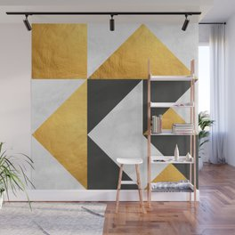 Gold Composition XX Wall Mural