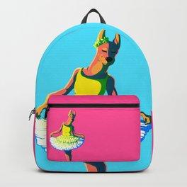 Dressed Doberman Backpack