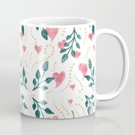 Hearts & Leaves Coffee Mug