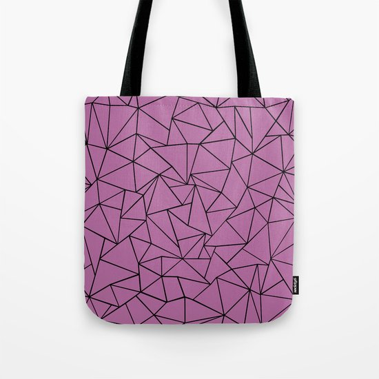 Ab Outline Bodacious Tote Bag