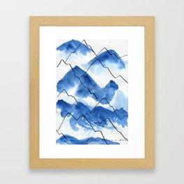 Mountain #2 Framed Art Print