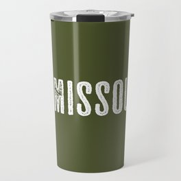 Deer: Missoula, Montana Travel Mug
