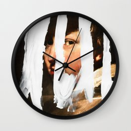Untitled (Finger Paint 2) Wall Clock
