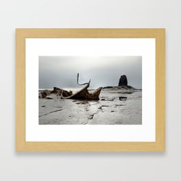 Admiral Von Tromp at Black Nab Framed Art Print