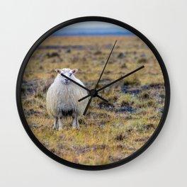 BAHHH Wall Clock