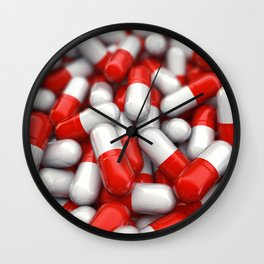 Pharmaceutical capsules Wall Clock