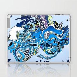 Swimming in the mind Laptop & iPad Skin