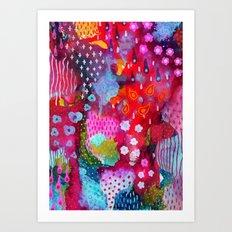 Flower Festival 2 Art Print