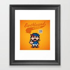 Earthbound & Down Framed Art Print