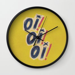 Oi! Oi! Oi! Wall Clock